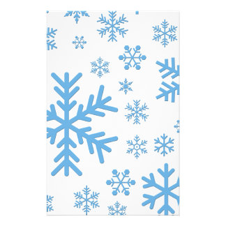 "Snowflakes Falling, Flurries 5.5"" X 8.5"" Flyer"