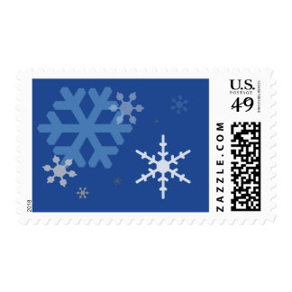 Snowflakes for Medium or Large Stamp