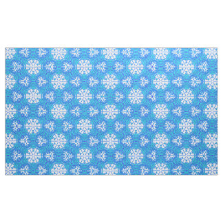 Snowflakes From Afar Fabric