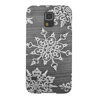 Snowflakes Galaxy S5 Cover