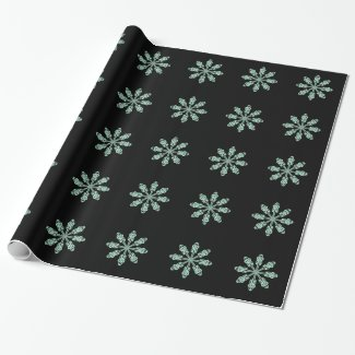 Snowflakes Gift Wrapping Paper
