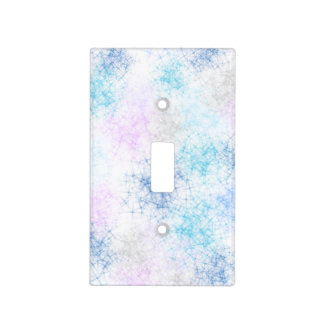 Snowflakes Graphic Light Switch Cover