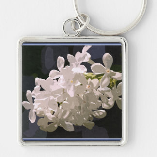 Snowflakes in juin keychain