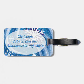 Snowflakes in the Wind - Bag Tag