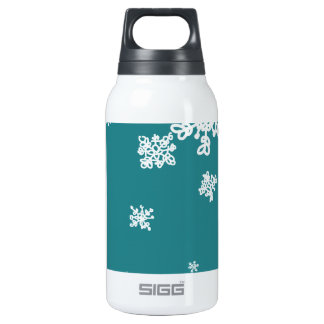Snowflakes Insulated Water Bottle