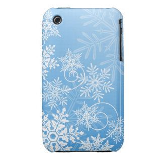 Snowflakes iPhone 3G/3GS Case