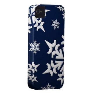 Snowflakes iPhone 4/4S Case-Mate Barely There