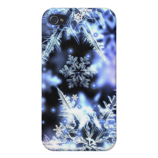 Snowflakes iPhone 4 Case