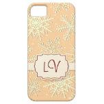 Snowflakes, iPhone 5 case