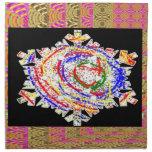 SNOWFLAKES Kids Art Cloth Napkin