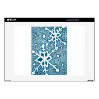 Snowflakes Laptop Skins