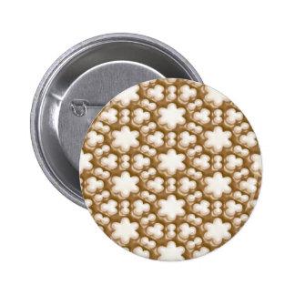 Snowflakes - Milk Chocolate and White Chocolate Pins