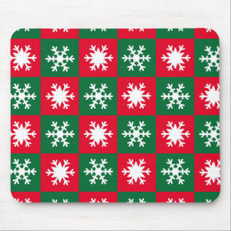 Snowflakes Mouse Pad