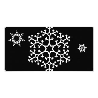 snowflakes_on_black card