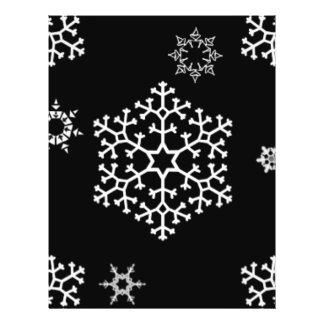 snowflakes_on_black flyer