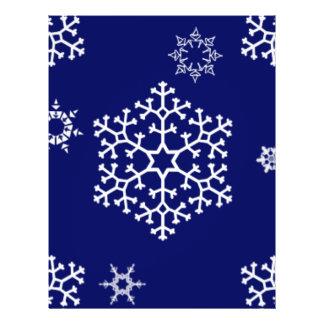 snowflakes_on_dark_blue flyer