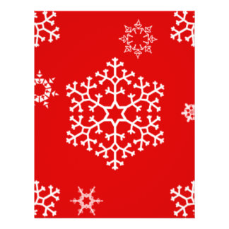 snowflakes_on_red flyer