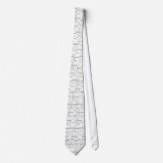 Snowflakes on the Bridge Neck Tie