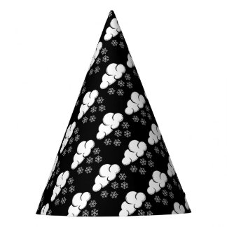 snowflakes paper hats