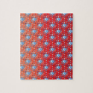 Snowflakes pattern II Jigsaw Puzzle