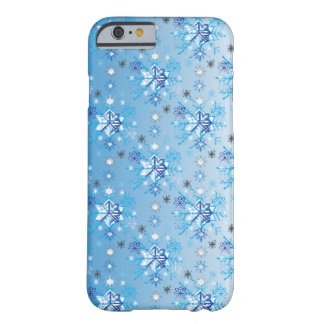 Snowflakes pattern V Barely There iPhone 6 Case
