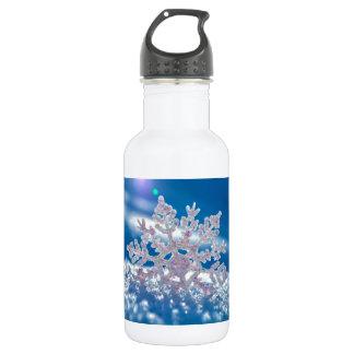 Snowflakes 18oz Water Bottle