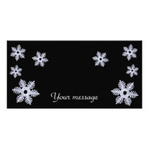 Snowflakes~photo Card