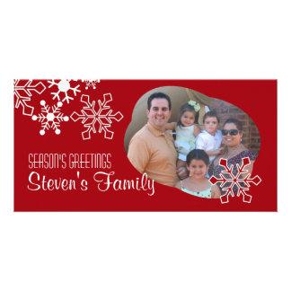 Snowflakes Photo Card