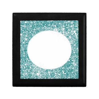 Snowflakes Photo Gift Box