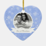 Snowflakes Photo Ornaments