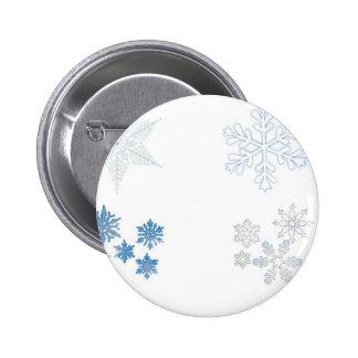 Snowflakes Pinback Button