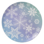SNOWFLAKES Plate