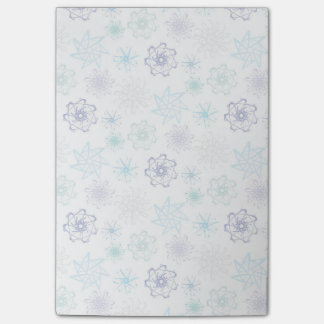 Snowflakes Post-Its Post-it Notes