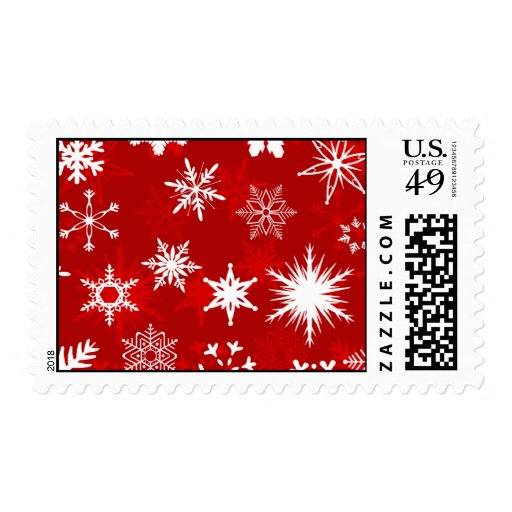 Snowflakes Postage
