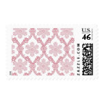 Snowflakes_Red by Ceci New York Postage Stamps