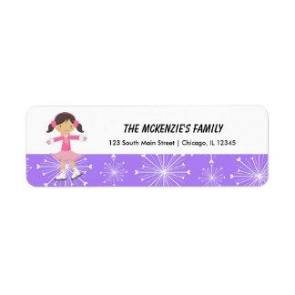 Snowflakes Return Address Return Address Label
