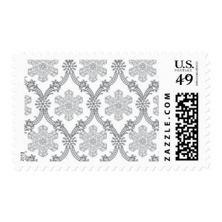 Snowflakes_Silver by Ceci New York Postage