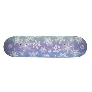 SNOWFLAKES Skateboard