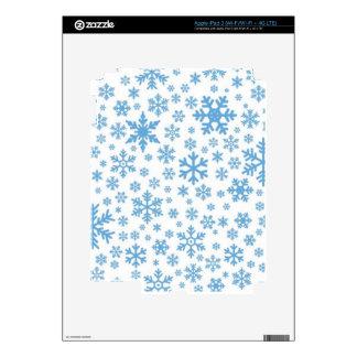 Snowflakes iPad 3 Skins