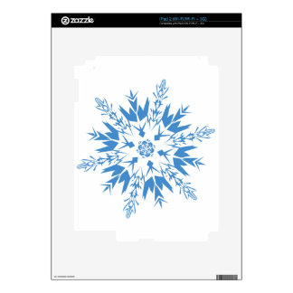 snowflakes iPad 2 decal