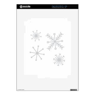 Snowflakes iPad 2 Decals