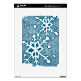 Snowflakes iPad 3 Decal