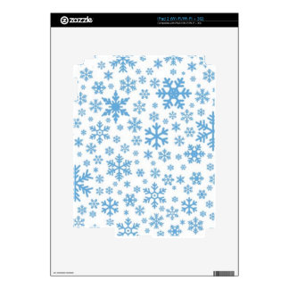 Snowflakes Decals For iPad 2