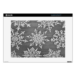"""Snowflakes Skins For 15"""" Laptops"""