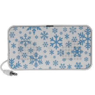 Snowflakes Travelling Speaker