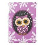 snowflakes stars owl case for the iPad mini