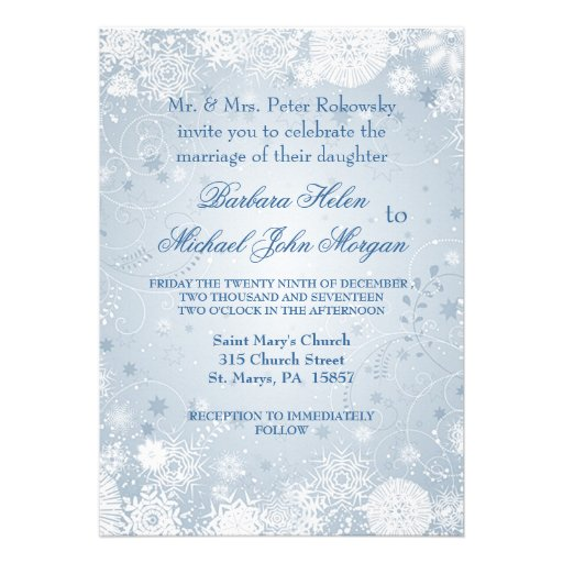 White And Silver Weding Invitations 012 - White And Silver Weding Invitations