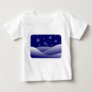 Snowflakes winter baby T-Shirt