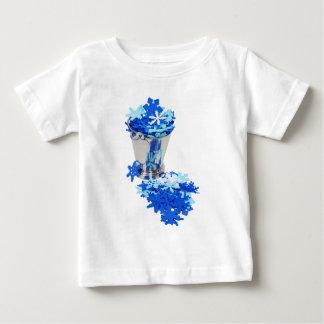 SnowFlakesIceBucket062109 Baby T-Shirt