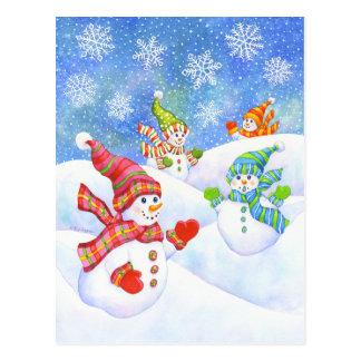 SnowGirls Postcard